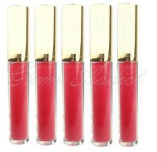 5 x ESTEE LAUDER Lip Gloss Pure Color Lip Shimmer Gloss 24 Fuchsia Fantasy