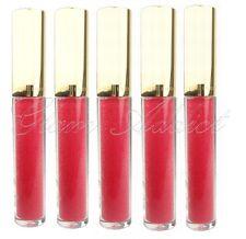 5 x ESTEE LAUDER Lip Gloss Pure Color Lip Shimmer Gloss 24 Fuchsia Fantasy