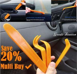 4PCS CAR TRIM REMOVAL TOOL KIT SET PANEL DOOR PLASTIC PRY DASH INTERIOR CLIP NEW