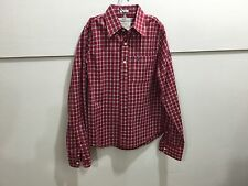 Abercrombie men's small long sleeve plaid button down casual shirt