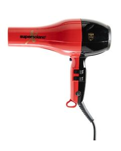 Solano supersolano X Red Black Blow Dryer Hair Professional style ion not dyson