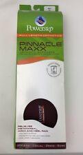 POWERSTEP Pinnacle Maxx Shoe Insert Insoles Maroon/Black, Men's 16+ FREE SHIP