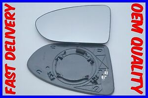 FITS NISSAN QASHQAI /DUALIS 2007-2013 WING MIRROR GLASS HEATED CONVEX LEFT H/S