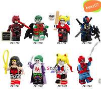 Single Red Son Daredevil Robin Harley Quinn Deathstroke Wonder Woman Joker