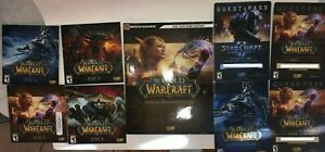 World of Warcraft Game Battle Chest Collection, PC/Mac, Game (MISSING BOX)