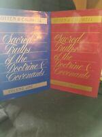 Sacred Truths of the Doctrine & Covenants Vols 1 & 2 HB w/DJs