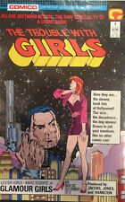 The Trouble With Girls #1 NM- 1st Print Free UK P&P Comico Comics