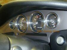 FOR  FIAT COUPE 16V 20V TURBO ALLOY DIAL SURROUNDS SPEEDO RINGS NEW