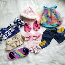 Babw Build A Bear Workshop Girls Clothes Clothingv10 Pc Lot Shoes Accessories