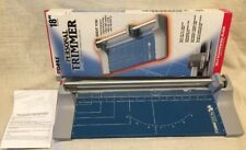 """Dahle 508 Personal Rolling Trimmer 18"""" Cut Length 7 Sheet, Self-Sharpening Blade"""