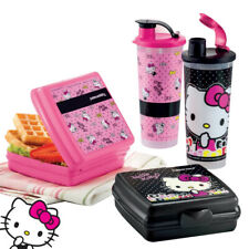 Tupperware Hello Kitty Lunch Box Containers & Tumblers Set - Free Shipping