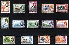 TRISTAN DA CUNHA 1954 DEFINITIVES SG14/27 MNH