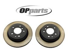 BMW E34 540i M5 Pair Set of 2 Rear Vented Brake Discs Rotors 320x20mm Opparts