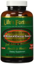 Life's Fortune All Natural Energy Source Supplying 180 Tablets FREE S&H