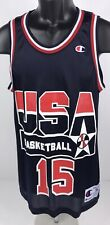 Vintage Magic Johnson 1992 Usa Basketball Olympic Dream Team Champion Jersey 36