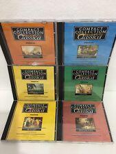 Lotto di 6 CD di musica classica della Compact Collection Classica De Agostini