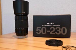 Fujifilm Fujinon XC 50-230 mm F/4.5-6.7 Aspherical OIS II Objektiv - Schwarz