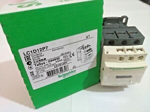 Schneider Electric LC1D12P7 Contactor 5.5KW/400V 230VCA-50/60Hz TeSys-034930