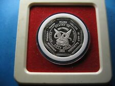 AUGUSTUS HUMBERT 1851 $50 COMMEMORATIVE OCTAGON 999 SILVER BAR COIN VERY RARE
