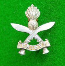 Rare Original Silver Collar Badge to the Gurkha Engineers