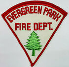 Evergreen Park Fire Department Cook County Illinois IL Patch (I5)