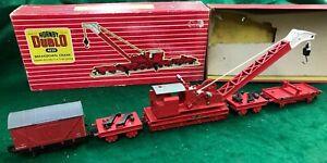 Hornby Dublo #4620 Breakdown Crane and equipment van exc boxed