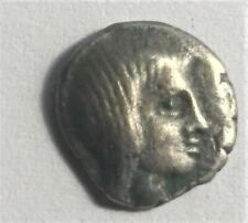 Grèce - Trihémiobolede THRACE, Odrysian. Saratokos. Vers 407-369 av JC ARGENT