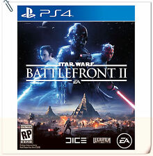 PS4 Star Wars Battlefront II 2 SONY PLAYSTATION EA Shooting Games