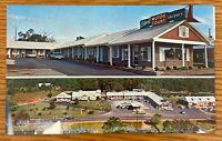 THOMASTON GEORGIA COLWELL'S MOTOR COURT TWO VIEWS POSTCARD J91