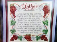 Cross My Heart Cross Stitch Pattern TO FATHER Father Remembrance Tribute CSL46