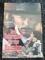 Original Kinoposter A3 : Drei Vaterunser für vier Halunken ( Lee van Cleef )