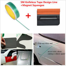 Knifeless Tape Design Line Vinyl Car Sticker Wrap Film Cutting +Magnet Squeegee
