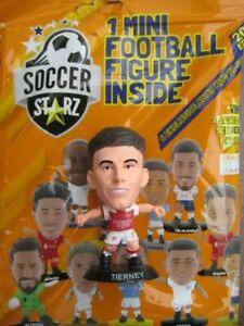 Kieran Tierney Arsenal SoccerStarZ 2022 Foil Bag Black Base MicroStars