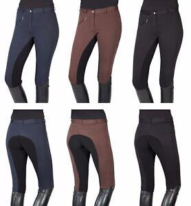 102290 PFIFF THEA Damen Reithose Vollbesatz Reiterhose elastischer Beinabschluß