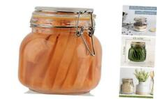 Glass Jars with Lids Food Storage Jars with Airtight Lids Leak Proof 25 oz 1