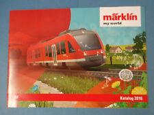 Märklin Katalog my world HO, 2016 A4 NEU, ungelesen