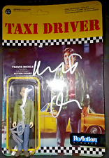Taxi Driver Martin Scorsese Robert Deniro Dual Signed Reaction Toy Proof Pics