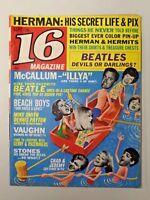 Vtg. 16 Magazine Sept. 1965 Vol. 7 No. 4  Herman, McCallum, Beatles 174