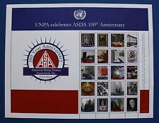 United Nations (S61) 2014 ASDA 100th Anniversary Personalized Sheet