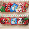 EG_ 2Pcs/Set Christmas Microwave Oven Heat Insulated Pad Christmas Gloves Mat Ex