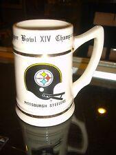 Pittsburgh Steelers Super Bowl Xiv Champions Mug Cup Stein