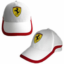 Ferrari Cap Racing Track - White - Sebastian Vettel - Kimi Räikkönen, 1 Stück