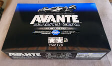 Tamiya Avante 2011 Black Special only BOX Leerkarton 47390