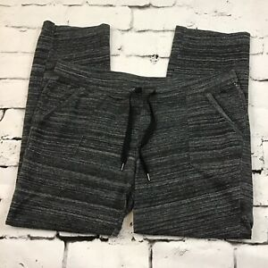 Sonoma Lounge Pants Womens Sz L Petite Pull On Comfy Gray
