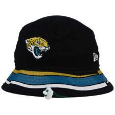 1f6647d9e41 Jacksonville Jaguars NFL Team Stripe Bucket New Era Training Camp Men s Hat  Cap