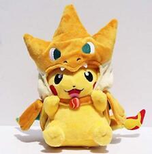 10'' Pokemon Mega Tokyo Pikazard Pikachu Charizard Plush toys Doll figure