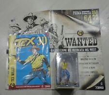 TEX 3D #01 : La Collezione UfficialeTex Willer Figure Fascicolo e POSTER Bonelli