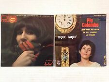 LOT DISQUES 45T SPECIAL PIA COLOMBO