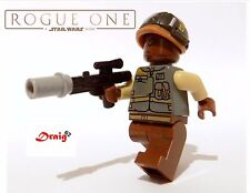 Lego Star Wars Rogue One Rebel Trooper (Lieutenant Sefla) from set 75153