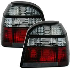 Rückleuchten Set für VW Golf 3 III Limo alle in Schwarz Heckleuchten